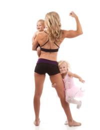 Фитнес мама